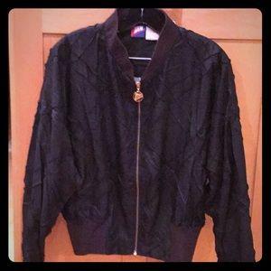 Ladies Golf Jacket by Tail in Black